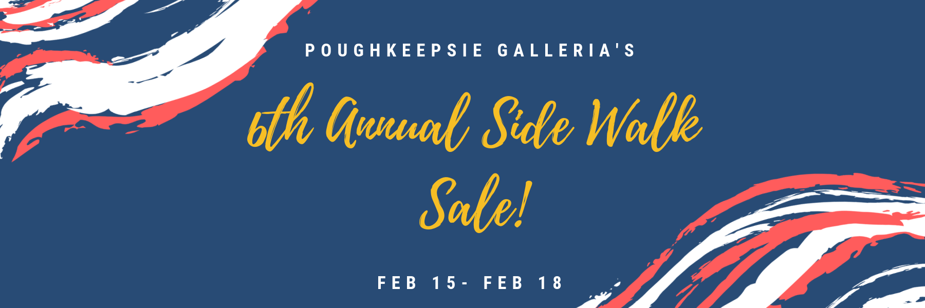 5th Annual Side Walk Sale - website