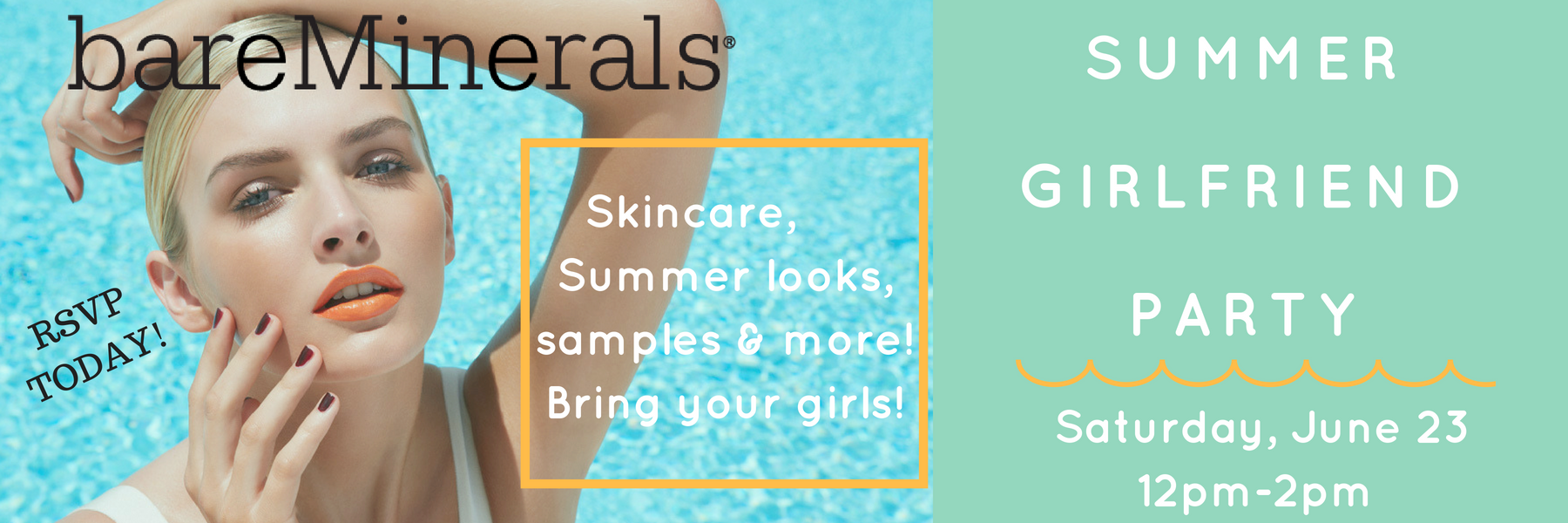Bare Minerals Summer GF Party