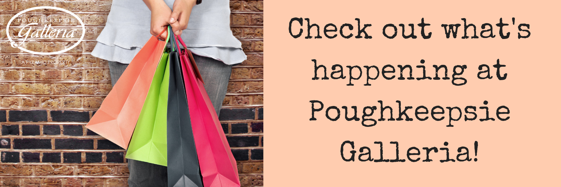 Check out what's happening this weekend at Poughkeepsie Galleria!