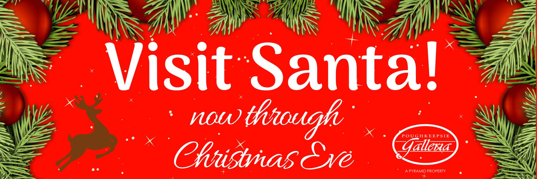 Visit Santa website