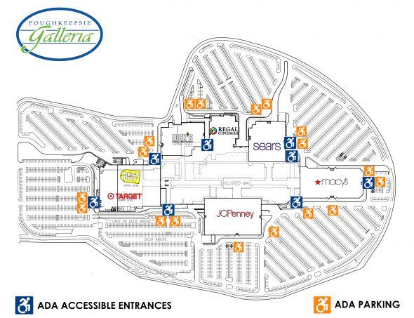 Poughkeepsie ADA Map