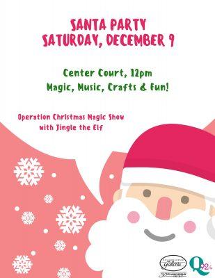Santa party with jingle the elf poughkeepsie galleria santa party with jingle the elf m4hsunfo