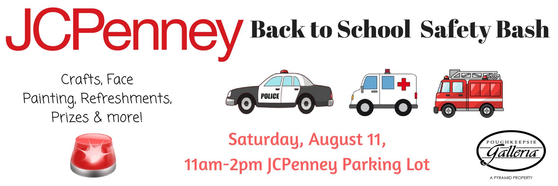 JC Penney - Back to School Bash - website