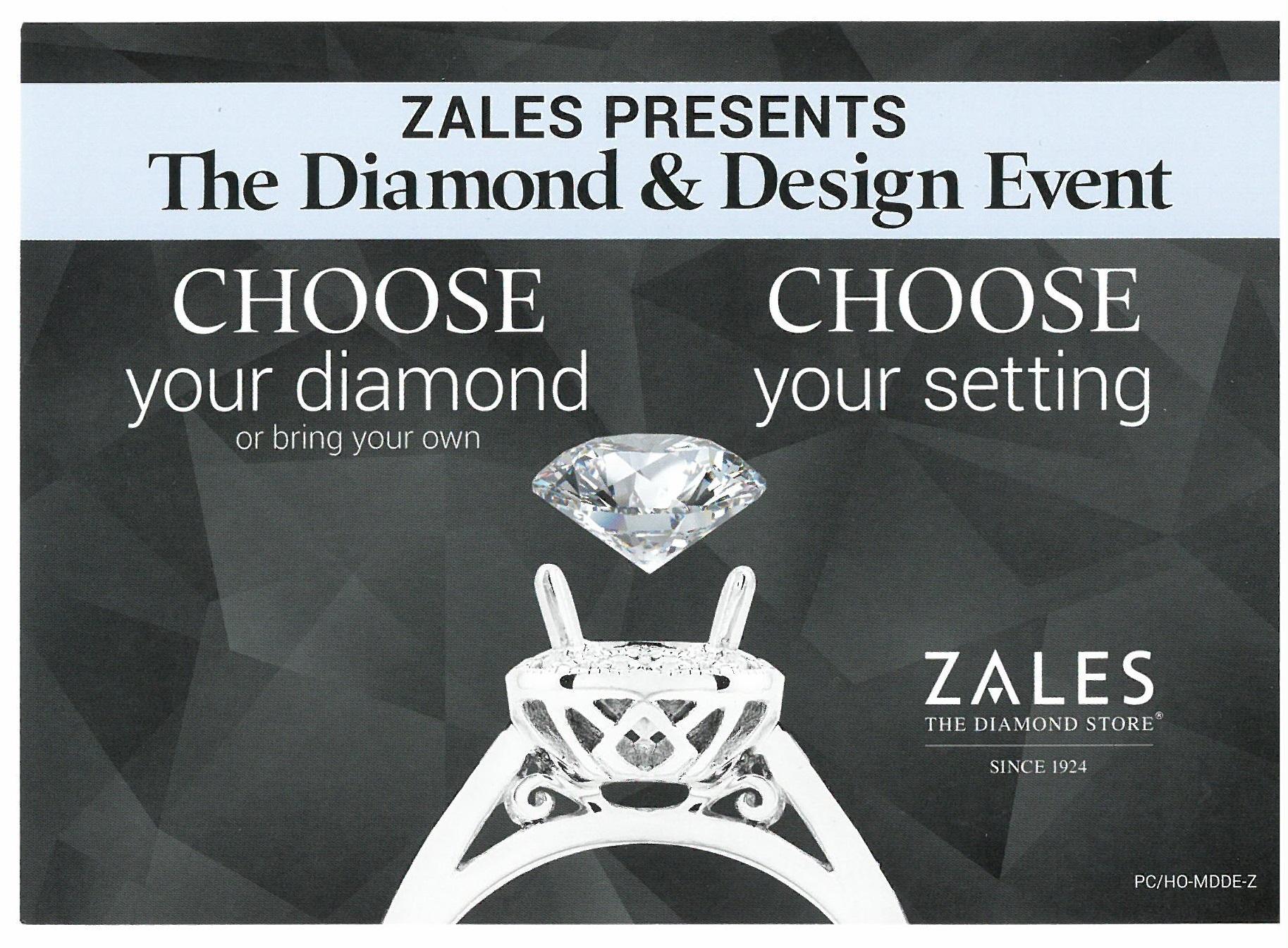 Zales Diamond Design Event Poughkeepsie Galleria