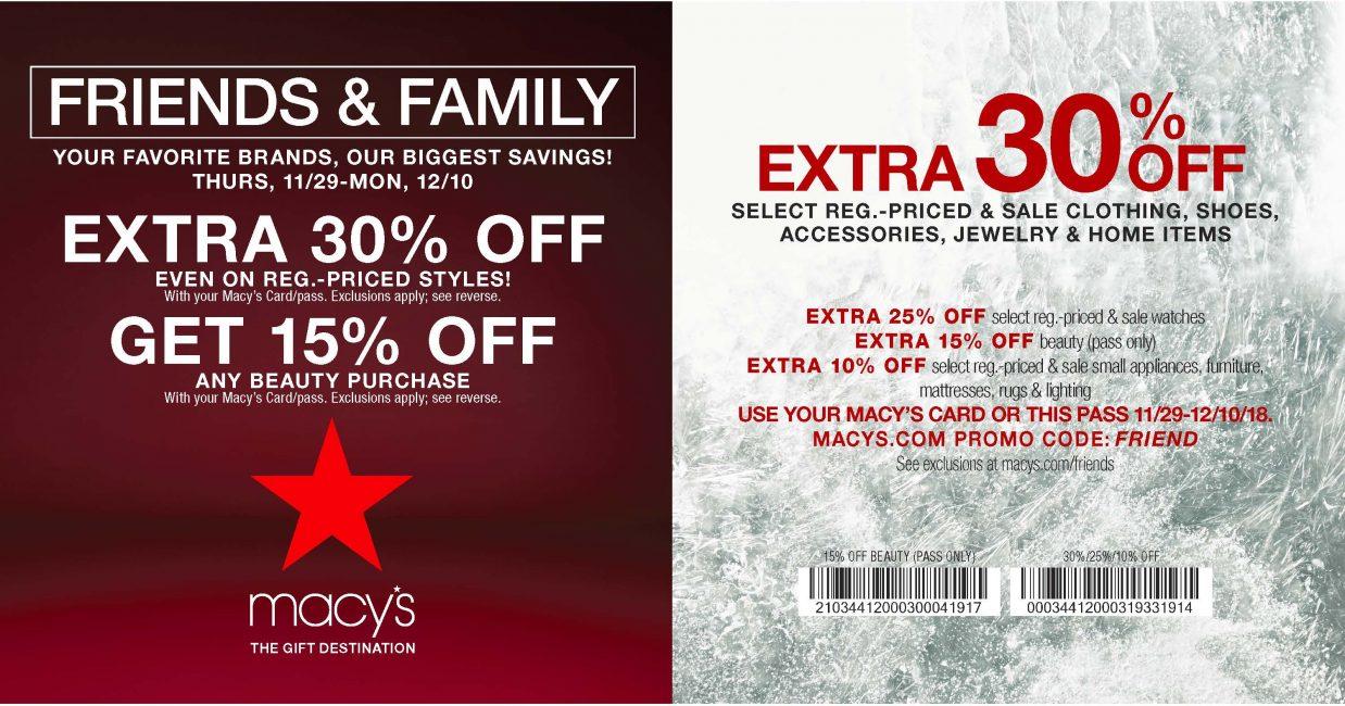 33d9674d5 Macy's - Friends & Family Event! - Poughkeepsie Galleria
