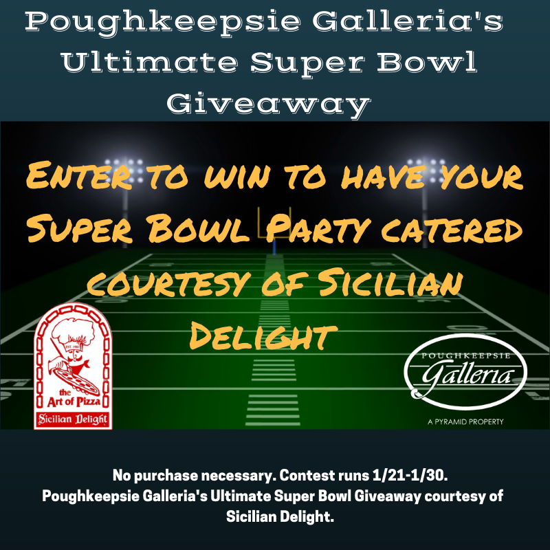Poughkeepsie Gallerias Ultimate Super Bowl Giveaway