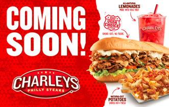 Charleys coming soon