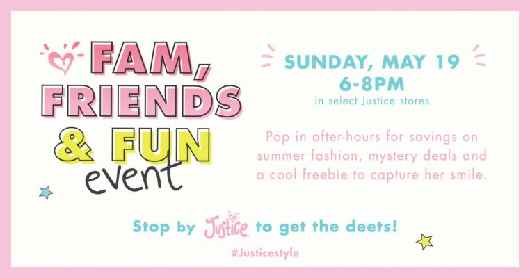 justice fam friends fun event May 2019