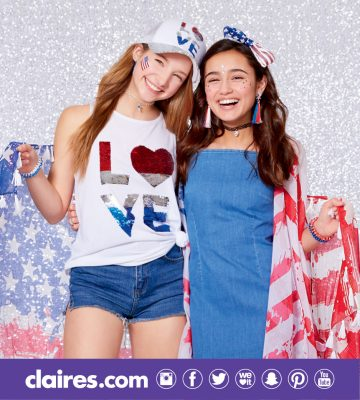 claires 4th of july