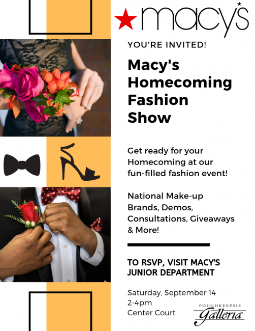 Macys Homecoming Event 2019