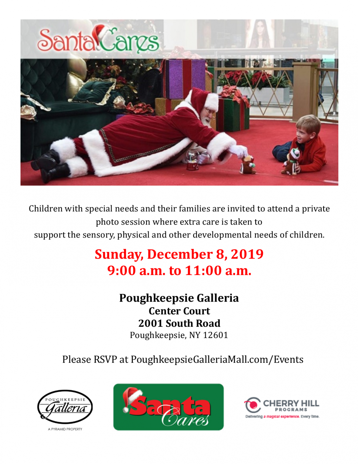 Santa Cares 2019 Flyer 1