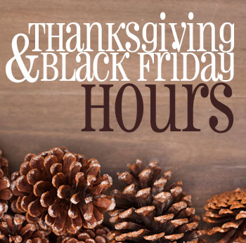 Thanksgiving black friday hours