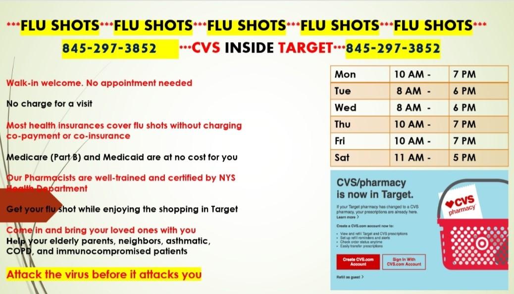 Target flu shots
