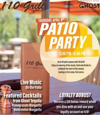 110 Grill Patio Party